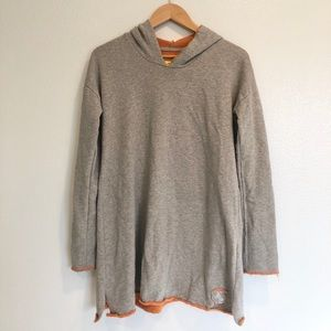 Witty Knitters Grey Hoodie Sweater in a Size S